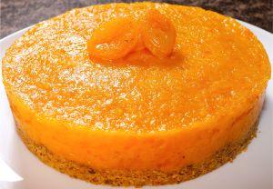 Torta Damasco 0% Açúcar
